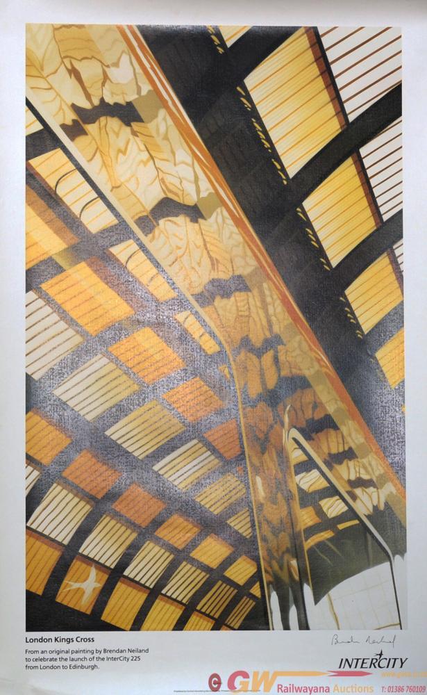 Poster 'Kings Cross' By Brendan Neiland R.A.,