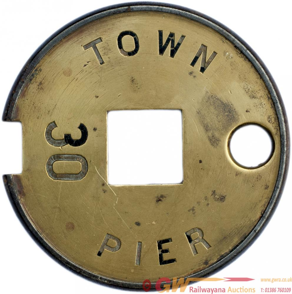 Tyers no6 Single Line Brass And Steel Tablet