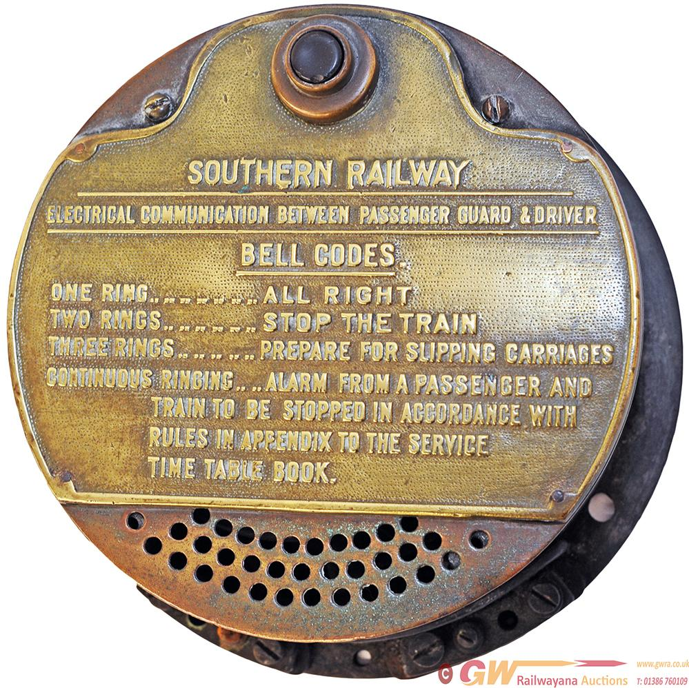 Southern Railway Brass Cased Electrical