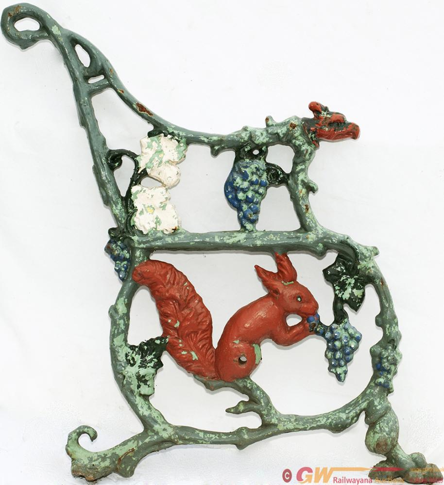 A Pair Of FURNESS RALWAY SEAT ENDS, Cast Iron And