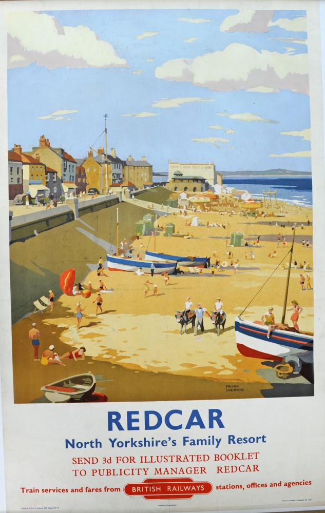 BR Poster Redcar - North Yorkshire's Family Resort