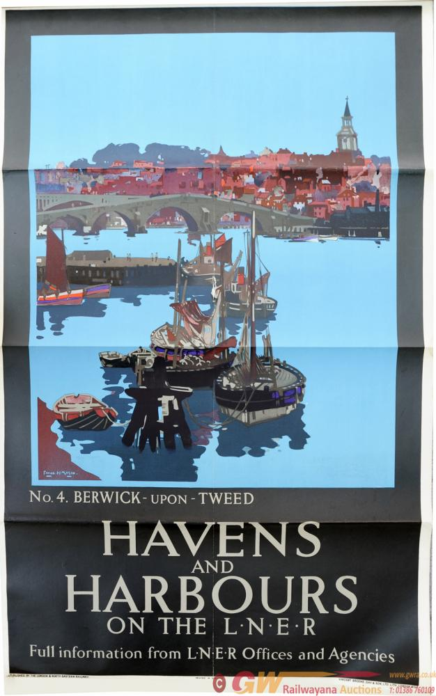 LNER Poster, Havens And Harbours On The LNER - No