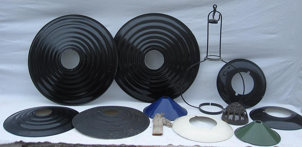 A Sundry Lot Containing Various Hanging Lamp