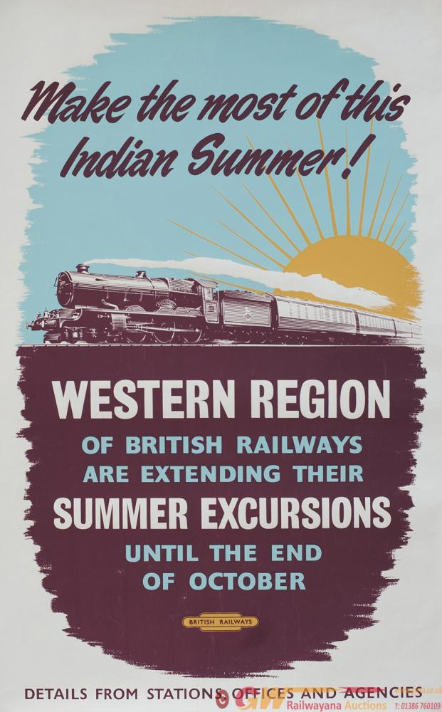 Poster BR MAKE THE MOST OF THIS INDIAN SUMMER.