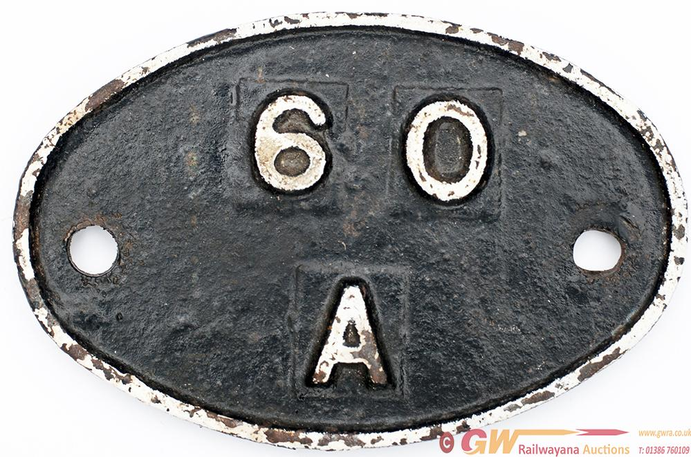 Shedplate 60a Inverness 1950-1973 With Sub Sheds