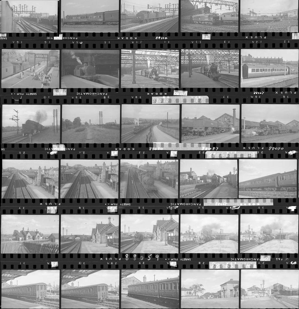 Approximately 64, 35mm Negatives. Includes