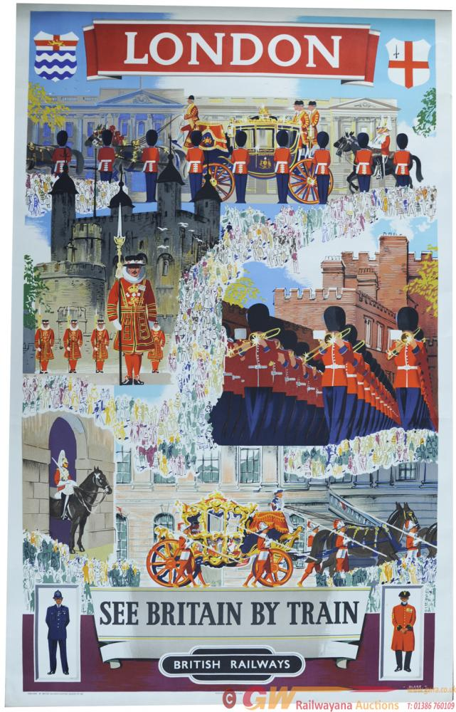 BR Poster ' London - See Britain By Train' By