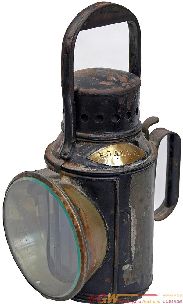 Southern Railway 3 Aspect Hand Lamp. Discovered In