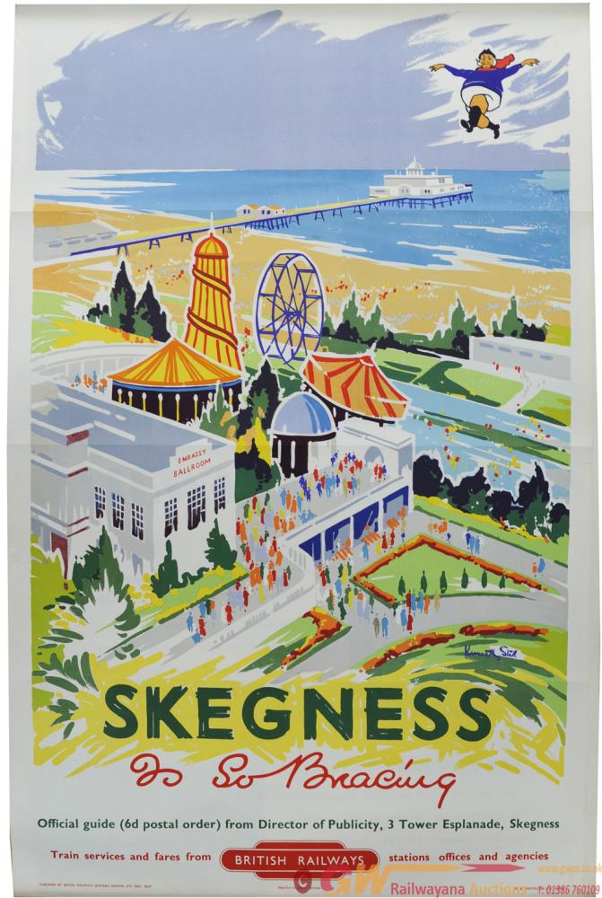 BR Poster, Skegness - Is So Bracing, By Kenneth