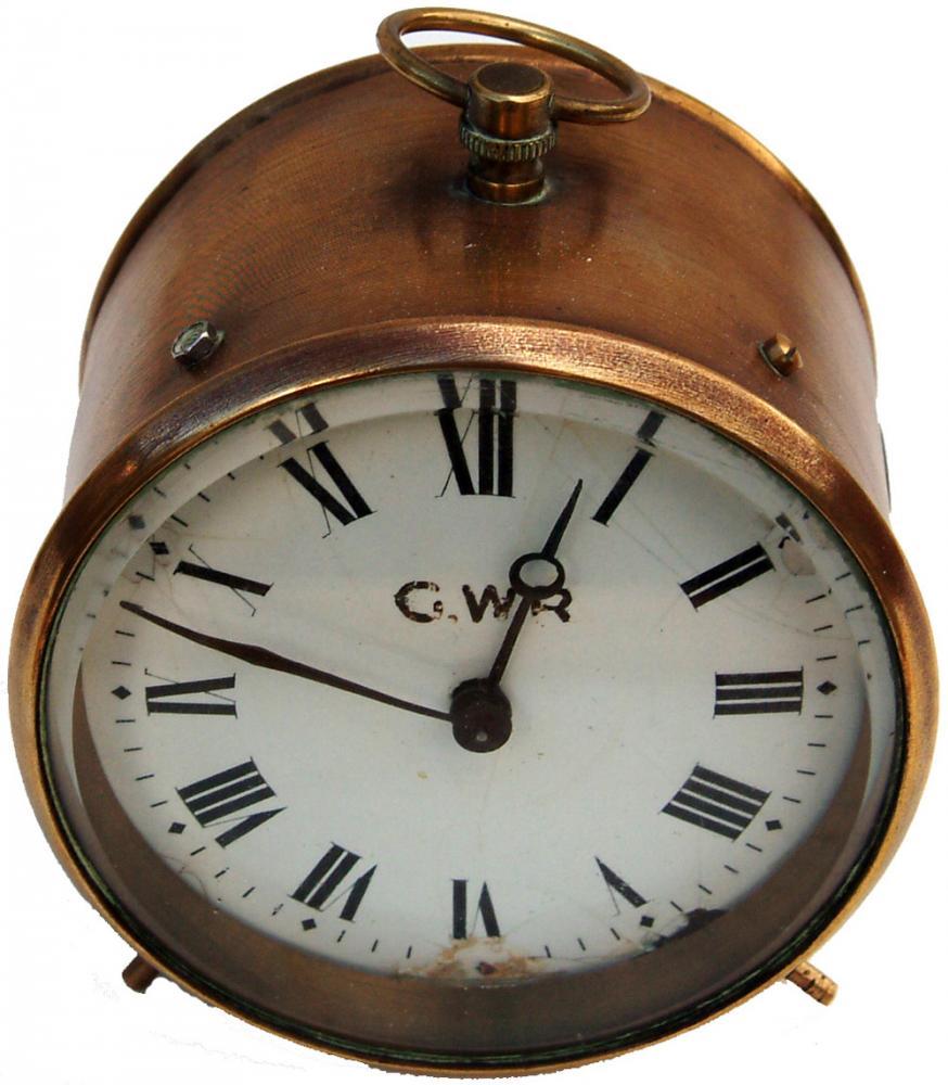 GWR Brass Drum Clock