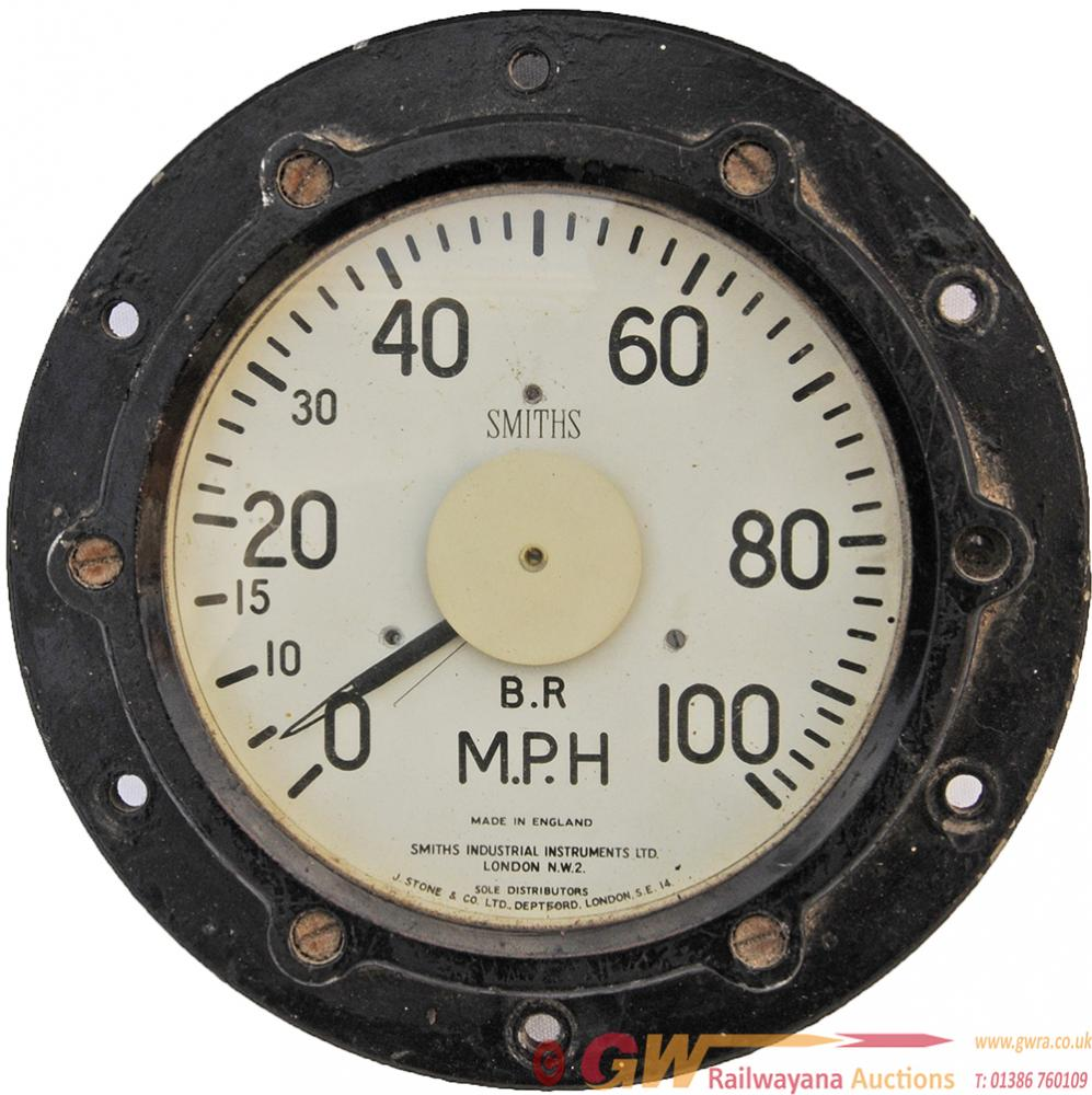Smiths Speedometer 0 - 100mph, The Type That Was