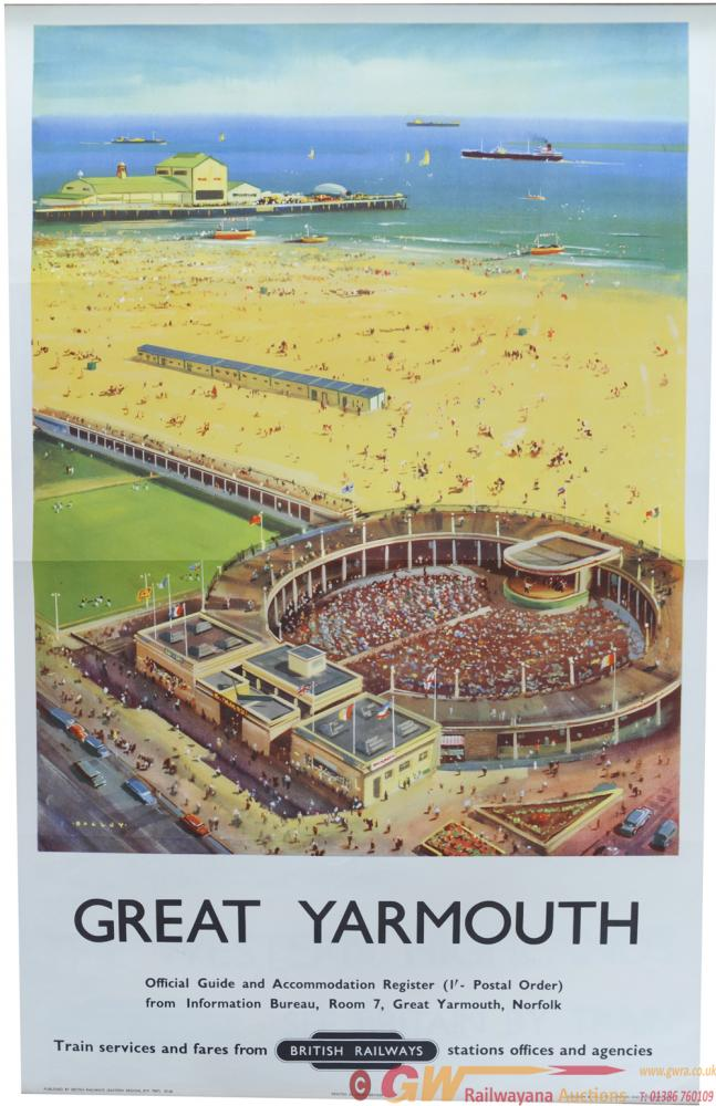 BR Poster, Great Yarmouth, By Bagley, D/R Size.