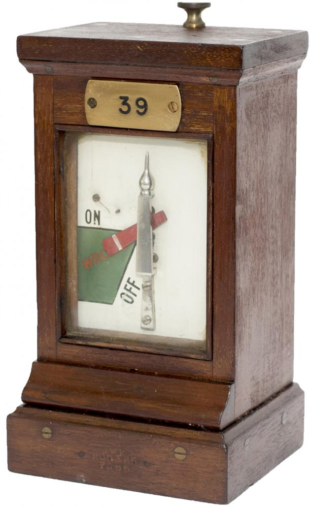 GWR Mahogany Cased Signal Box Home Signal