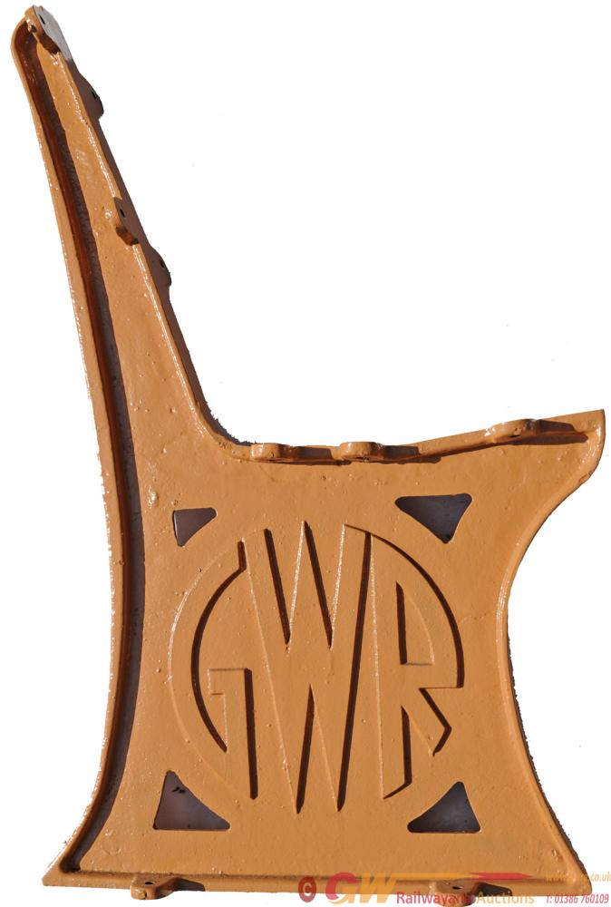GWR C/I Platform Sear Ends, Roundel Type X 3 From