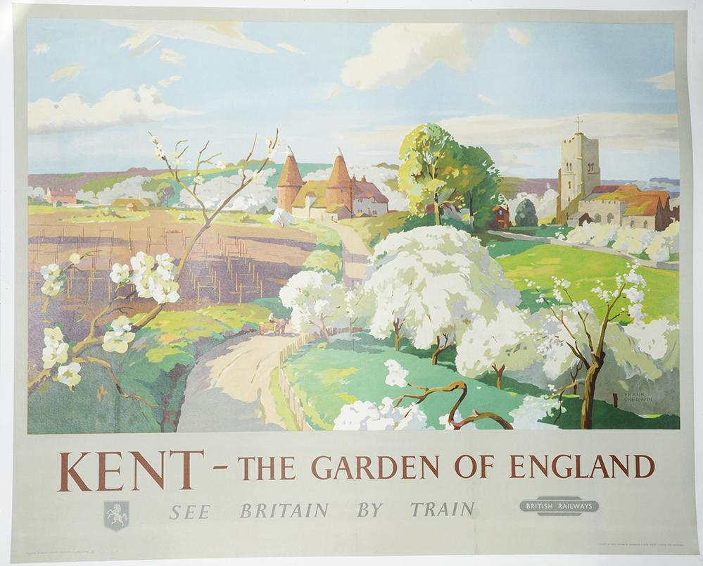 Poster BR(S) 'Kent - The Garden Of England' By