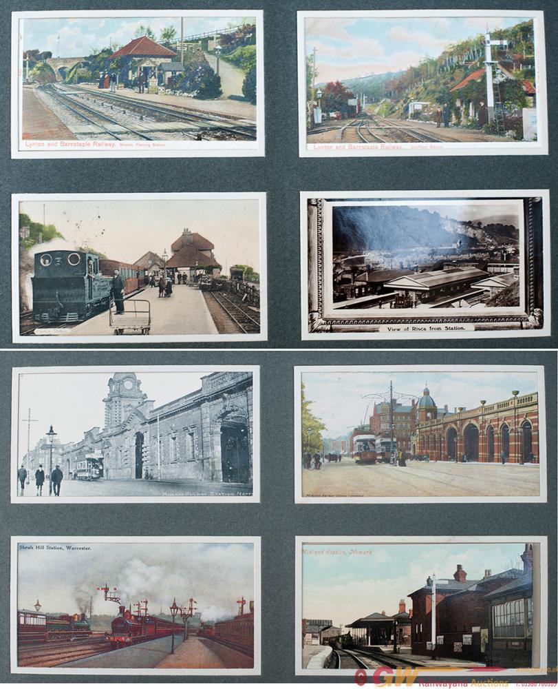 Postcard Album Containing 200 Postcards Of