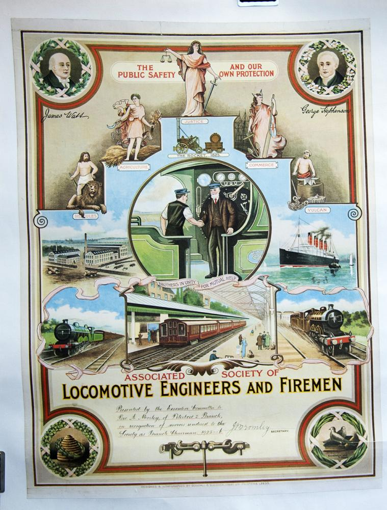 Associated Society Of Locomotive Engineers And