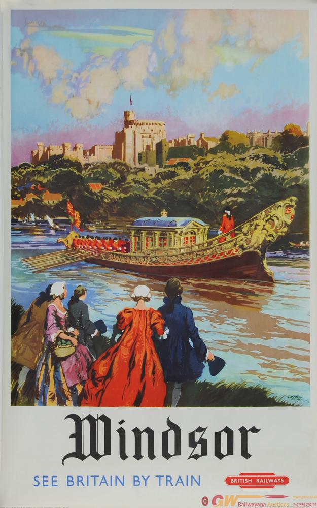 Poster British Railways 'Windsor - See Britain By