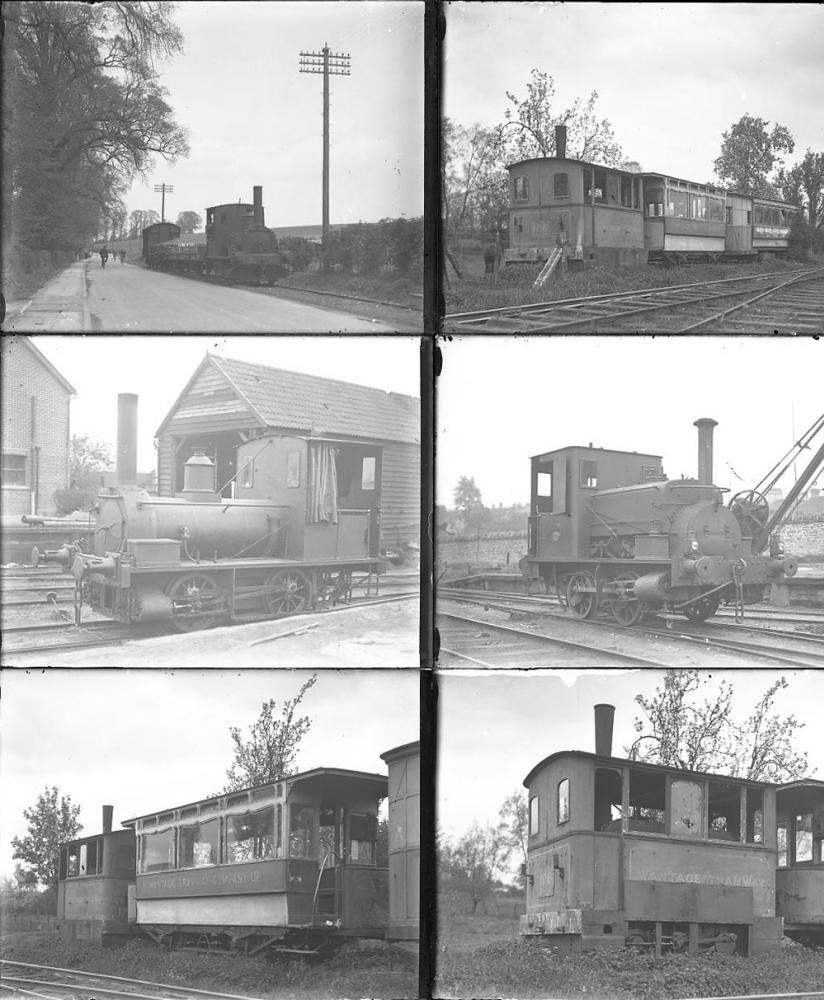 Qty 10 Large Format Glass Negatives. All Wantage