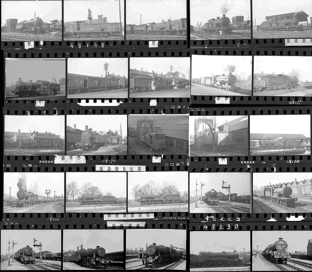 Approximately 120, 35mm Negatives. Includes M&GN,