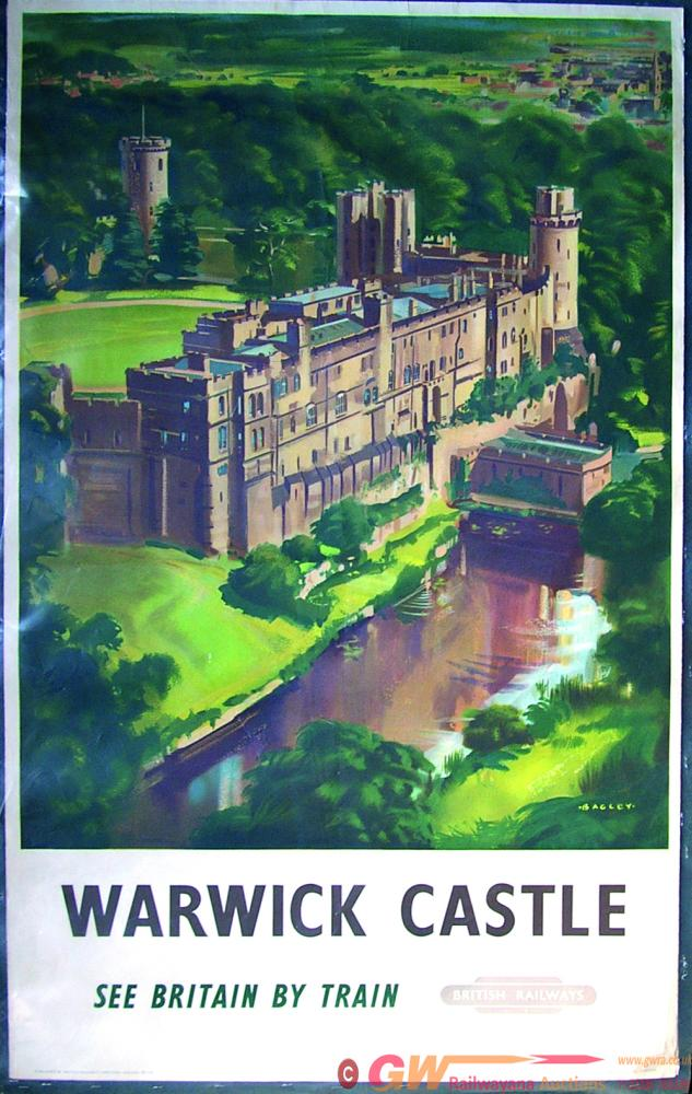 Poster, BR(W)  'Warwick Castle - See Britain By