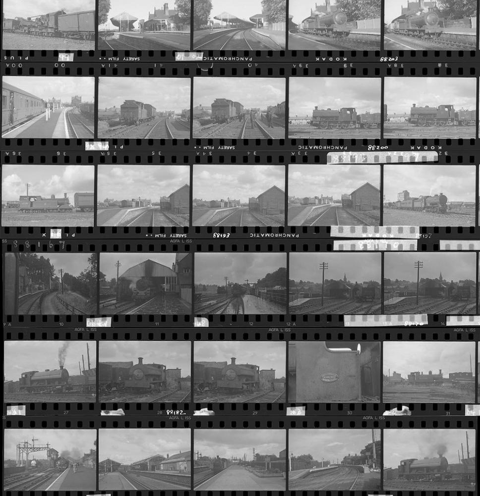 Approximately 56, 35mm Negatives. Includes Alston,