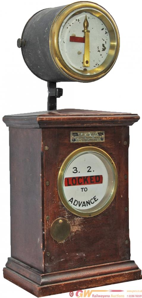 Sykes Lock & Block Instrument '3.2 To Advance'.