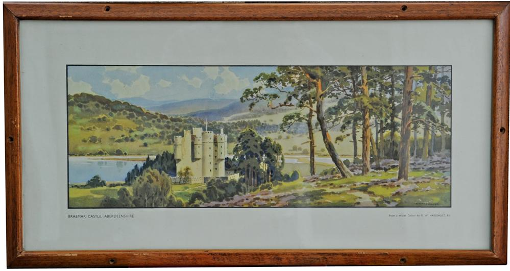 Carriage Print 'Braemar Castle' By  Haselhust,