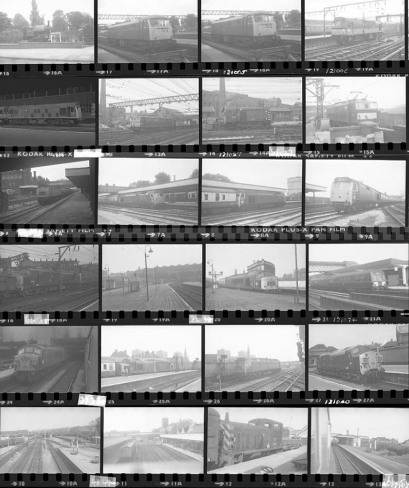 Approximately 70, 35mm Negatives. Includes