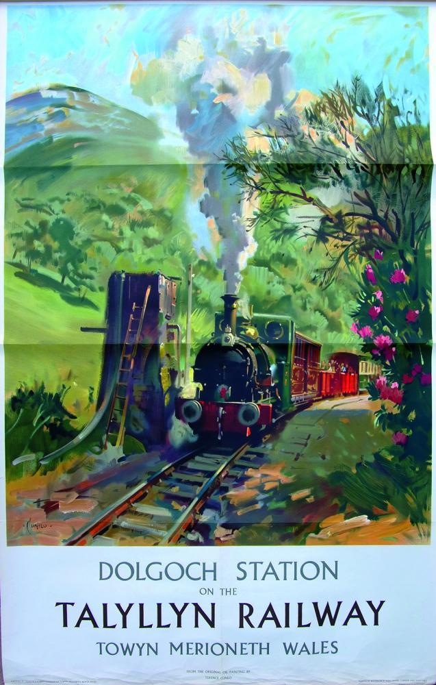 Poster 'Dolgoch Station On The Talyllyn Railway,
