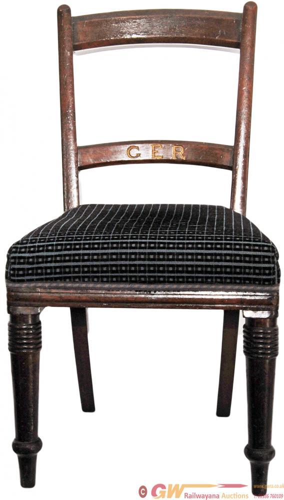 Great Eastern Railway Dark Oak Office Chair.