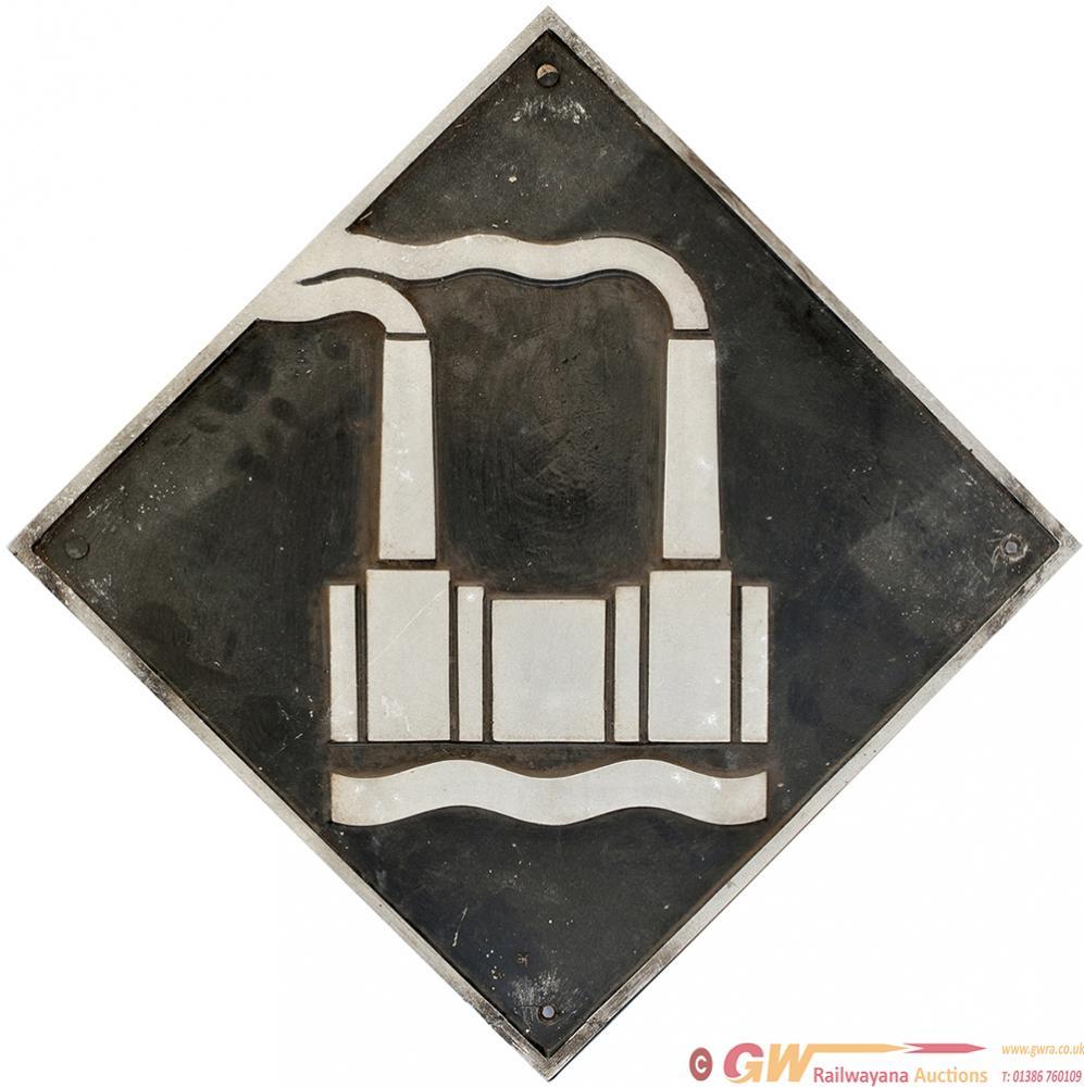 Depot Plaque Cast Aluminium STEWARTS LANE Ex 73110