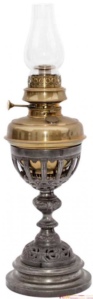 GWR Table Lamp Complete With Reservoir, Burner,