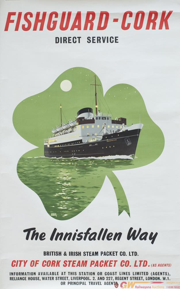 Poster BR FISHGUARD - CORK THE INNISFALLEN WAY By