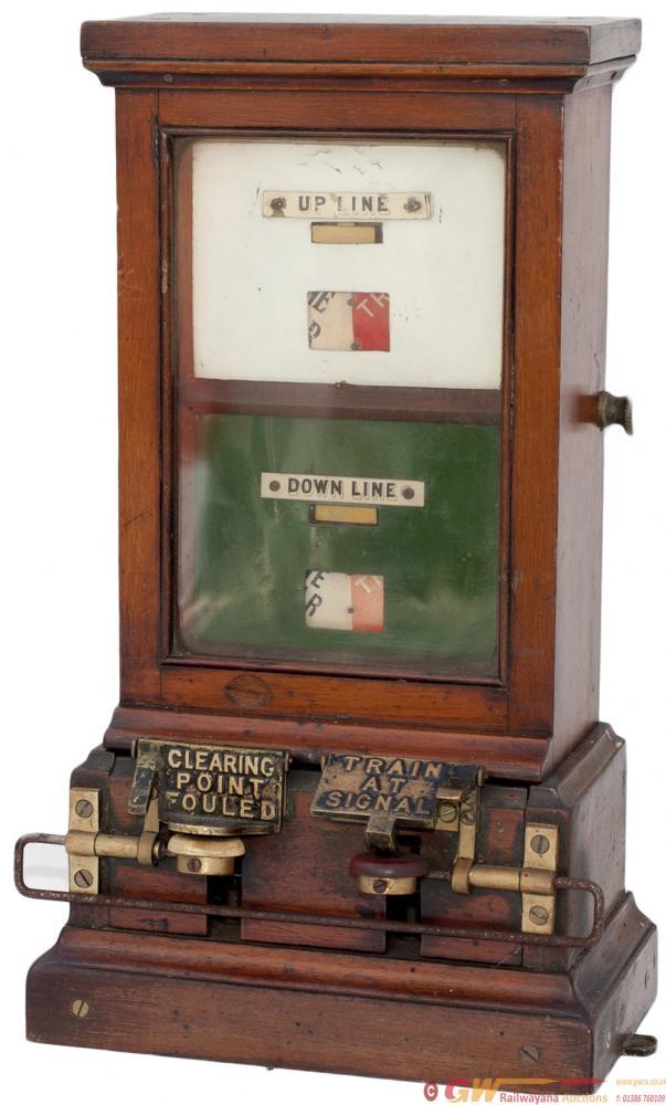 GWR Spagnoletti Double Line Block Instrument