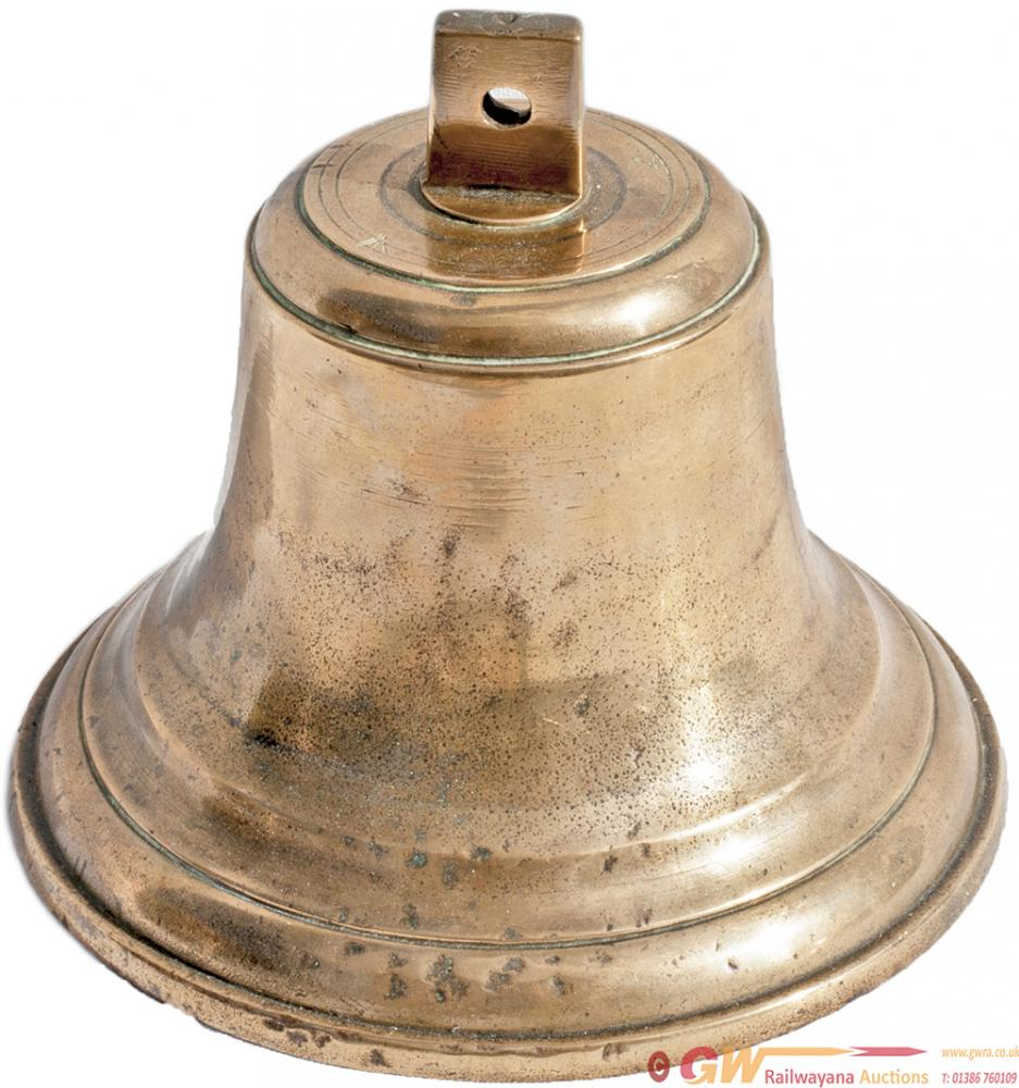 Brass Ships Bell Stamped NER Co Twice On The Top.