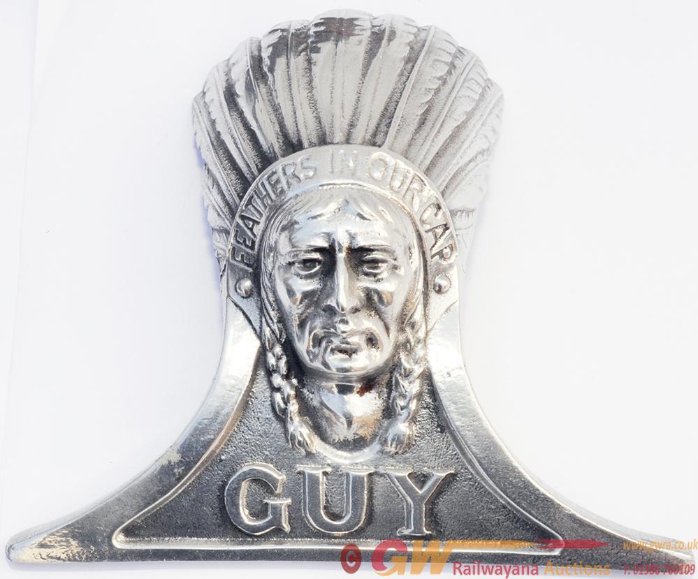 Guy Radiator Emblem, Ex Bus, Cast Alloy In Totally