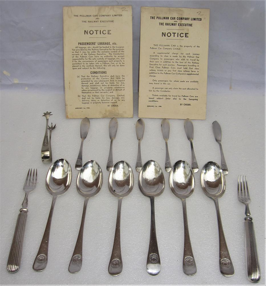 14 X Pieces Of PULLMAN Cutlery Inclusive Of