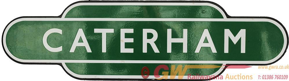 Totem BR(S) CATERHAM F/F Dark Green. Ex SECR