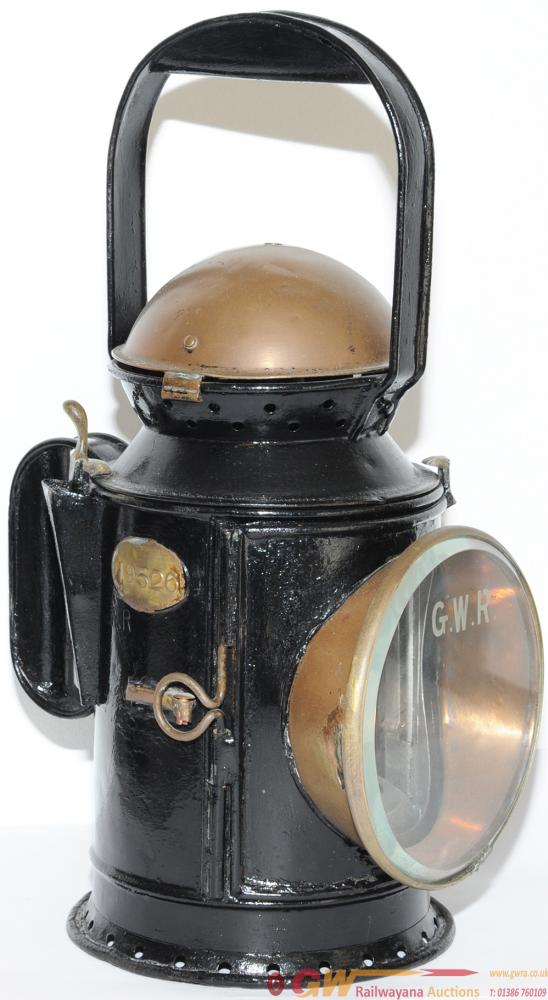 GWR 3 Aspect Coppertop Handlamp With Replacement