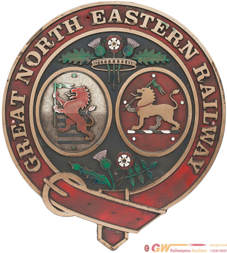 Great North Eastern Railway Coat Of Arms Cast