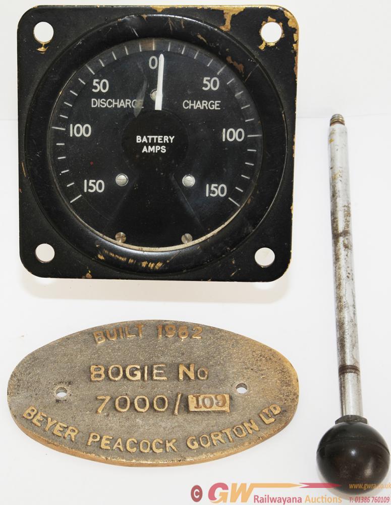 Beyer Peacock Gorton Ltd Built 1962 Hymek Bogie
