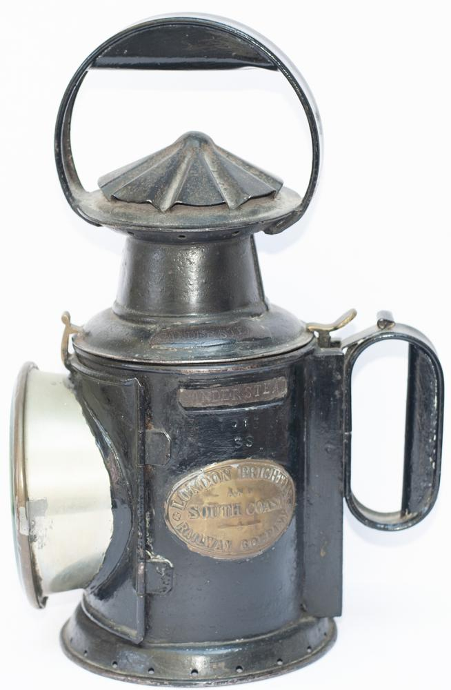 LB&SCR 3 Aspect Handlamp Brass Plated LONDON