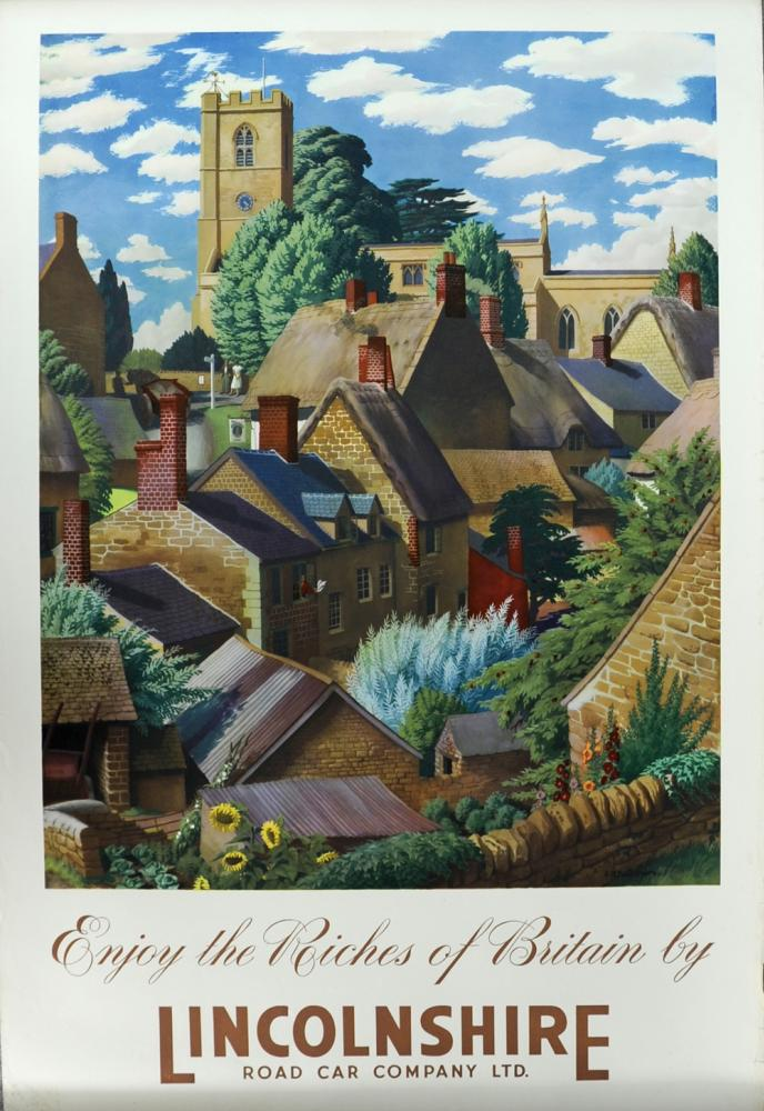 Poster, 'Enjoy The Riches Of Britain By
