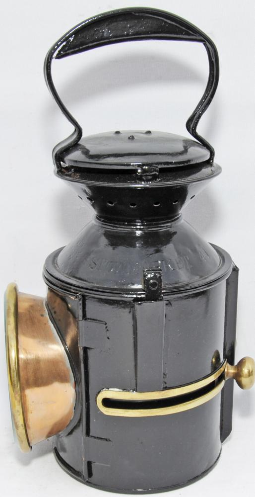 LNER, GER Pattern Sliding Knob Handlamp Dated 1939