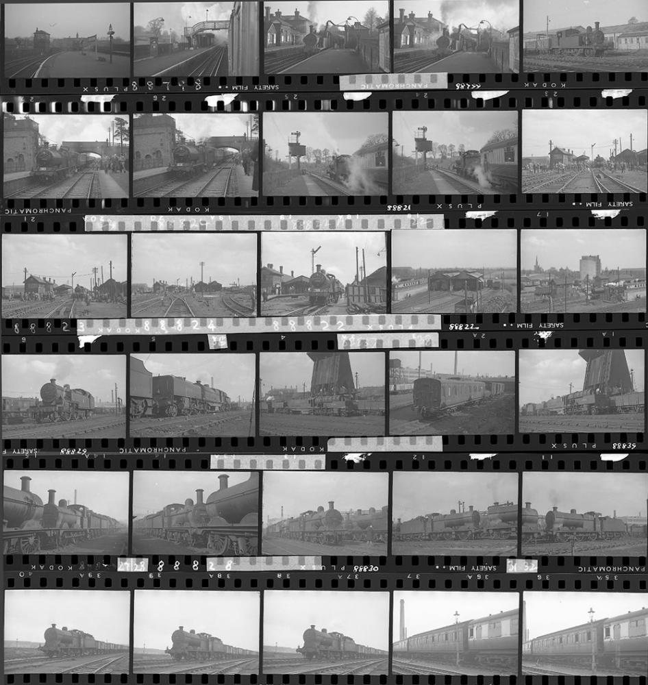 Approximately 68, 35mm Negatives. Includes Saltley