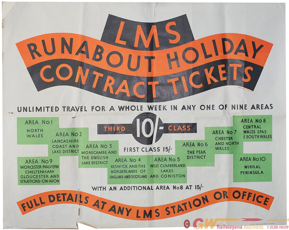 Poster LMS RUNABOUT HOLIDAY CONTRACT TICKETS By