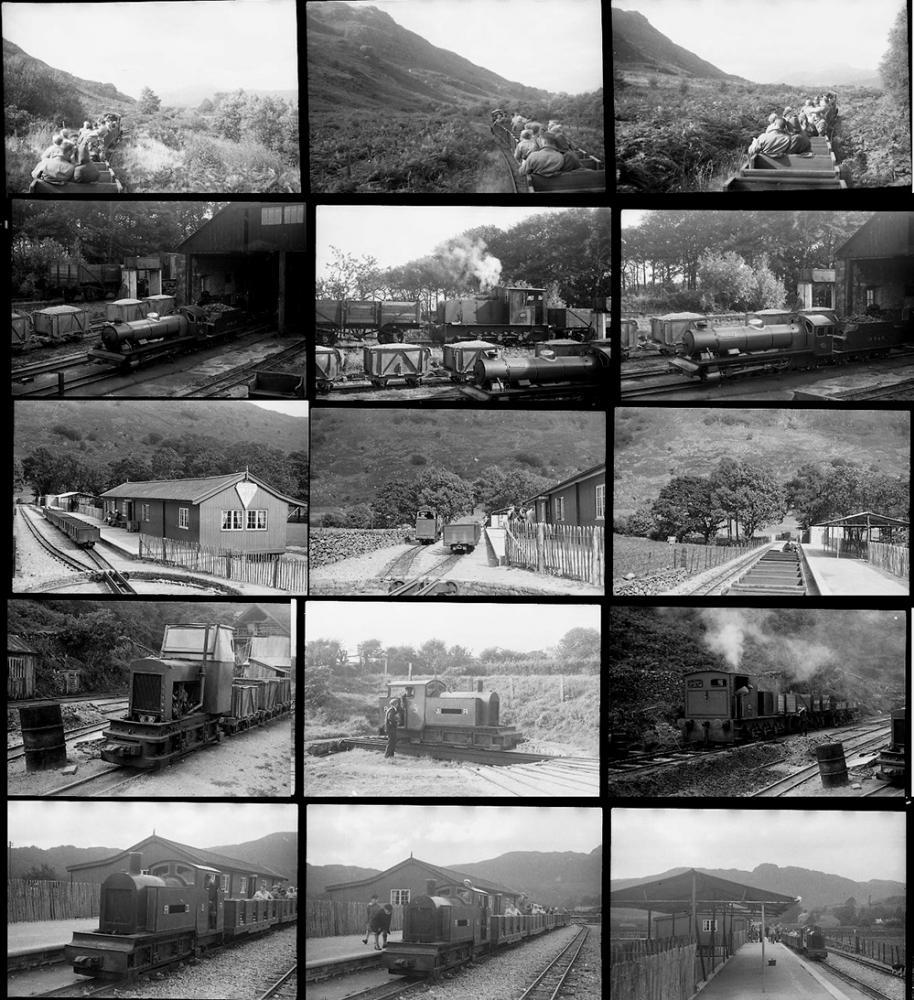 Approximately 44 35mm Negatives. Taken In 1950