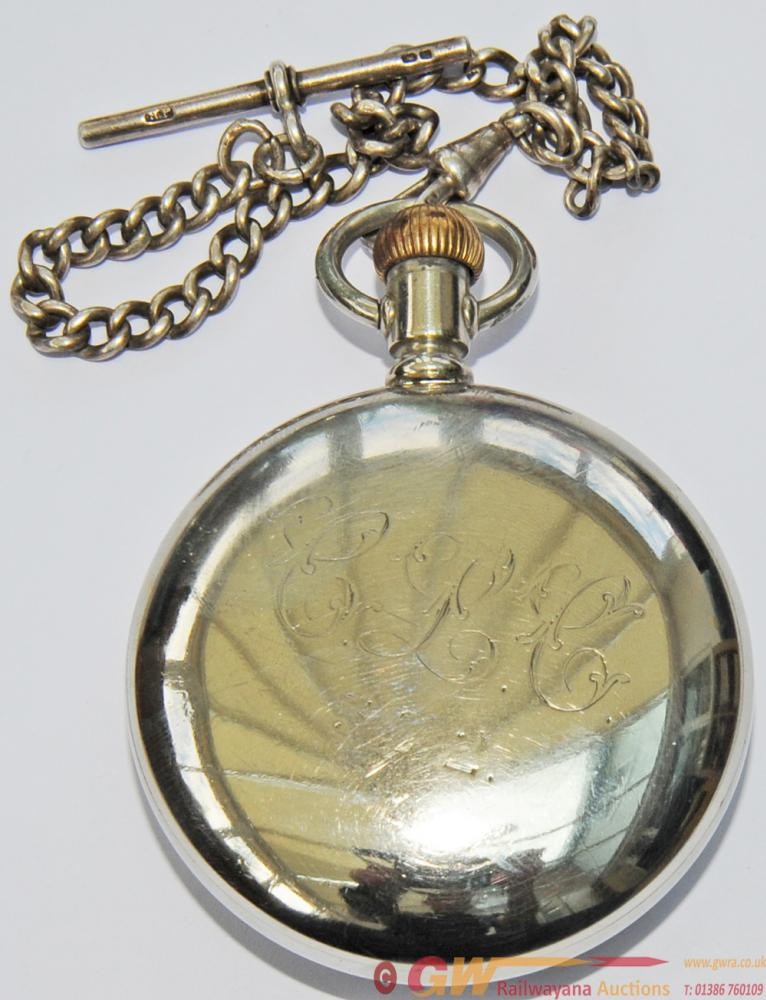 Cheshire Lines Committee Pocket Watch Complete