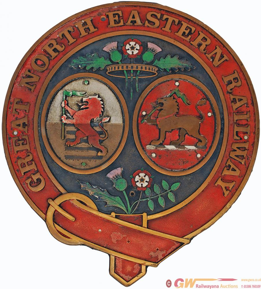 GNER Cast Brass Crest Ex 42128. In Original
